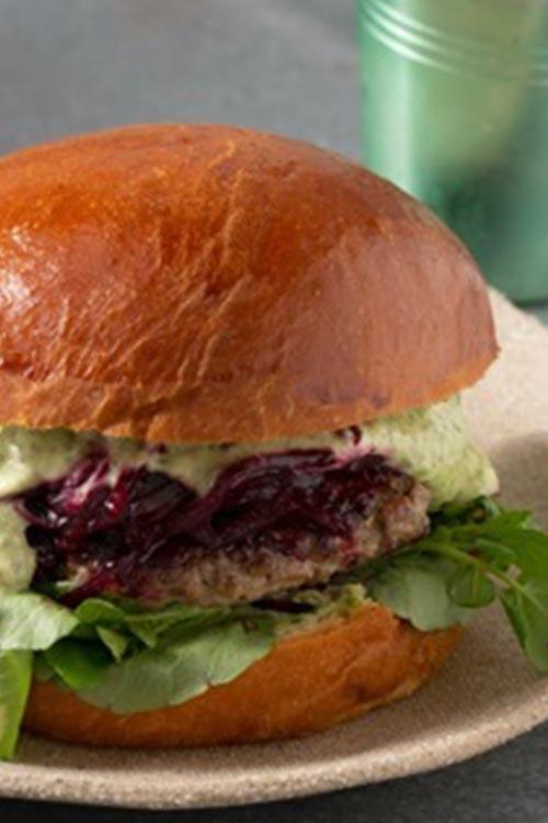 Recipe 4 Lamb Burger