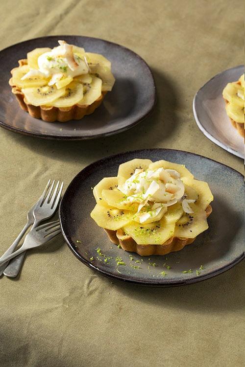 Recipe 8 Kiwifruit Custard Tart